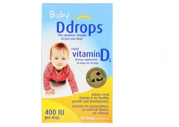 دروبز فيتامين دي ثري Ddrops, Baby, Liquid Vitamin D3