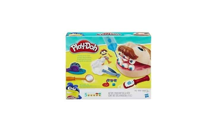 افضل العاب صلصال للأطفال Play-Doh Doctor Drill 'n Fill Retro Pack