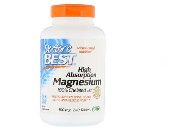 دكتور بيست مغنسيوم عالي الامتصاص Doctor's Best, High Absorption Magnesium 100%