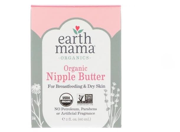 إيرث ماما بالزبدة Earth Mama, Organic Nipple Butter