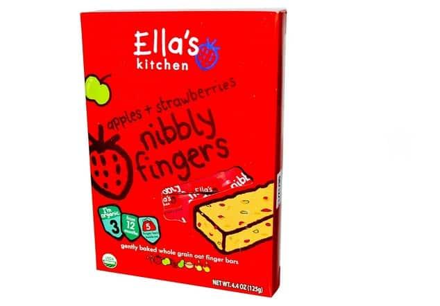 وجبة الفواكة العضوية Ella's Kitchen, Nibbly Finger