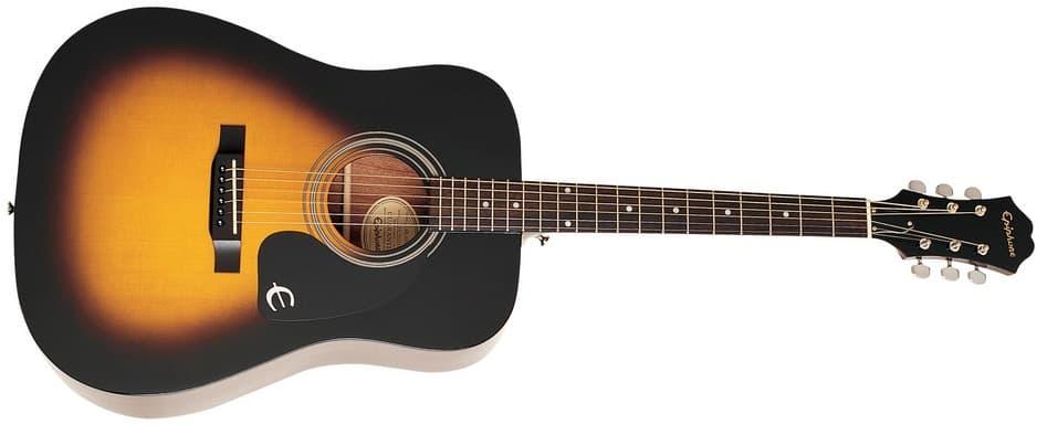 جيتار إيبيفون Epiphone DR-100 مقاسات الجيتار الكلاسيك