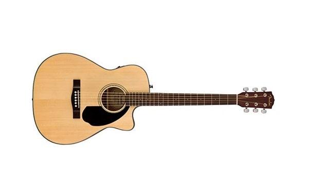 جيتار فيندر Fender CC-60SCE افضل جيتار كلاسيكي للمبتدئين