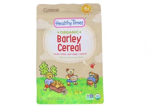 هيلثي تايمز Healthy Times, Organic, Barley Cereal