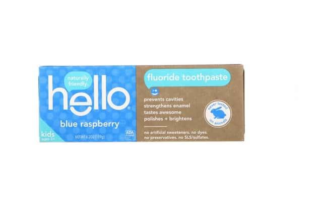 معجون اسنان فلورايد Hello, Kids, Fluoride Toothpaste