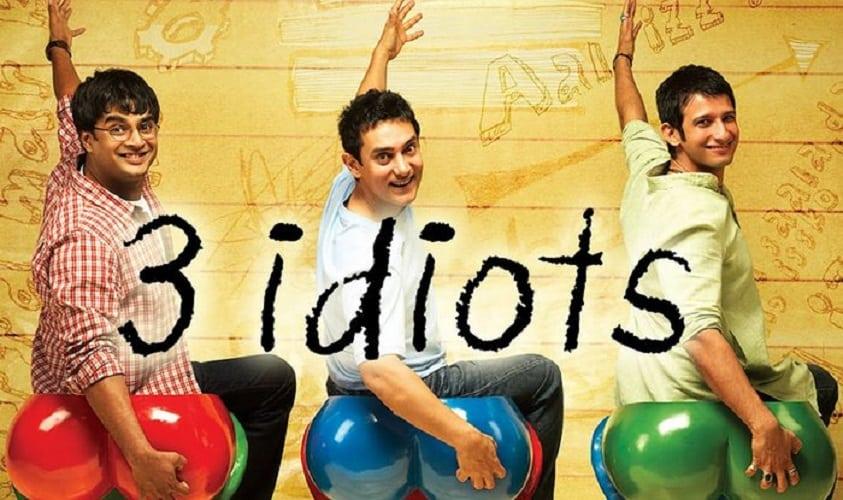 فيلم ثلاثة 3 بُلَهاء Idiot 3 فيلم هندي كوميدي من افضل الافلام الهندية