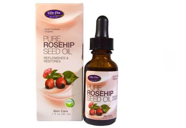 زيت العنبر والزهور للبشرة Life-flo, Pure Rosehip Seed Oil افضل منتجات اي هيرب للشعر الجاف
