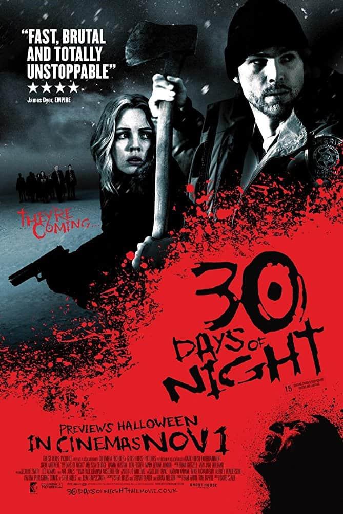 (2007) Days of Night 30 (ثلاثون يوما من الليل) فيلم مصاص دماء يحب فتاه