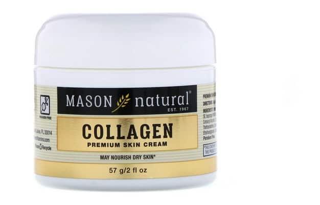 كريم البشرة الجافة Mason Natural, Collagen Premium Skin Cream