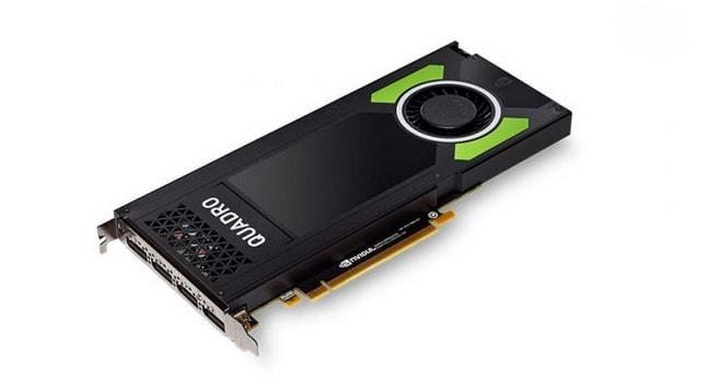 كرت شاشة إنفيديا Nvidia Quadro P4000 افضل كرت شاشة للالعاب بسعر رخيص