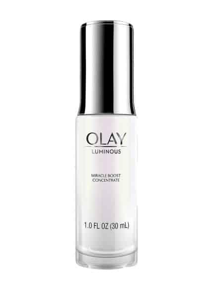 اولاي ليمونوس Olay Luminous Miracle Boost Concentrate طريقة وضع سيروم فيتامين سي