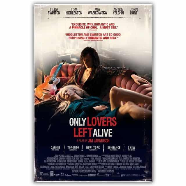 Only Lovers Left Alive 2013 (العشاق فقط يبقون أحياء) فيلم مدينة مصاصي الدماء