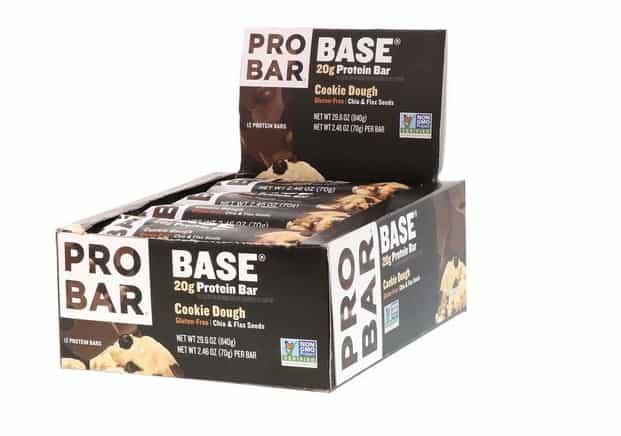 بار البروتين النباتي ProBar, ProBar, Base, 20 g Protein Bar