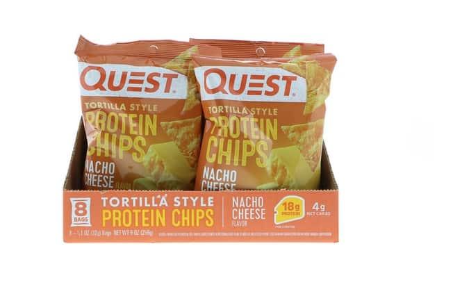 رقائق التورتيا المصنوعة من البروتين Quest Nutrition, Tortilla Style Protein Chips