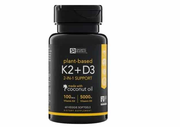 فيتامين Sports Research, Vitamin K2 + D3