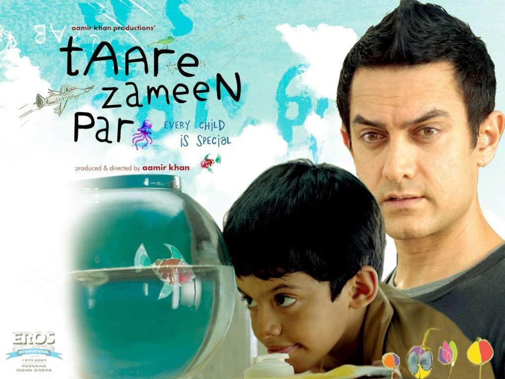 Taare zameen par افضل الافلام الهندية وأهم افلام بوليوود
