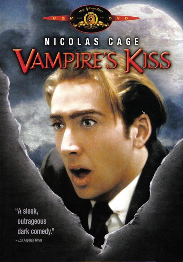 Vampire's Kiss 1989 (قبلة مصاص الدماء) أفضل أفلام مصاصي الدماء