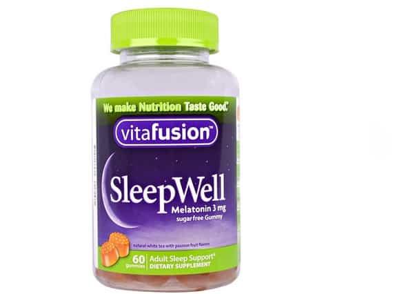ڤيتا فيوجن للأرق VitaFusion, SleepWell, Adult Sleep Support