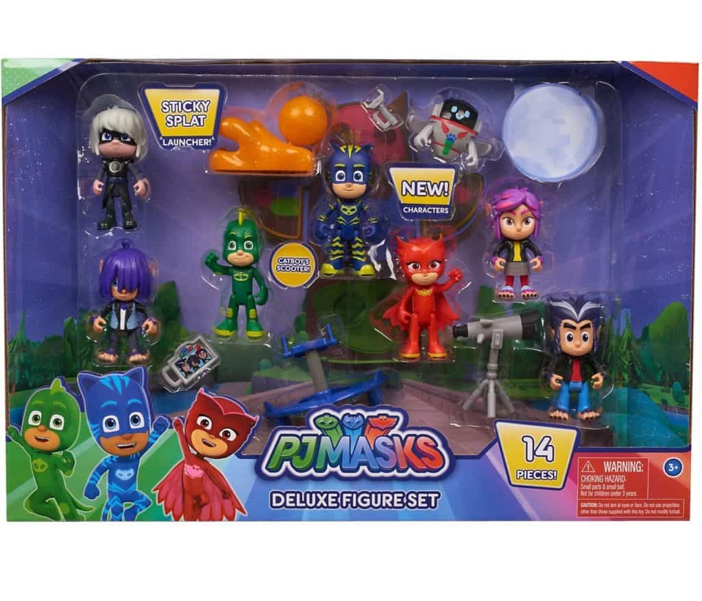 جست بلاي  Just play PJ Masks Deluxe Figure Set