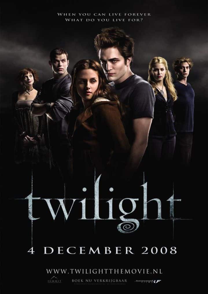 Twilight 2008 (سلسلة الشفق) من افضل افلام مصاصي الدماء والمستذئبين 2018