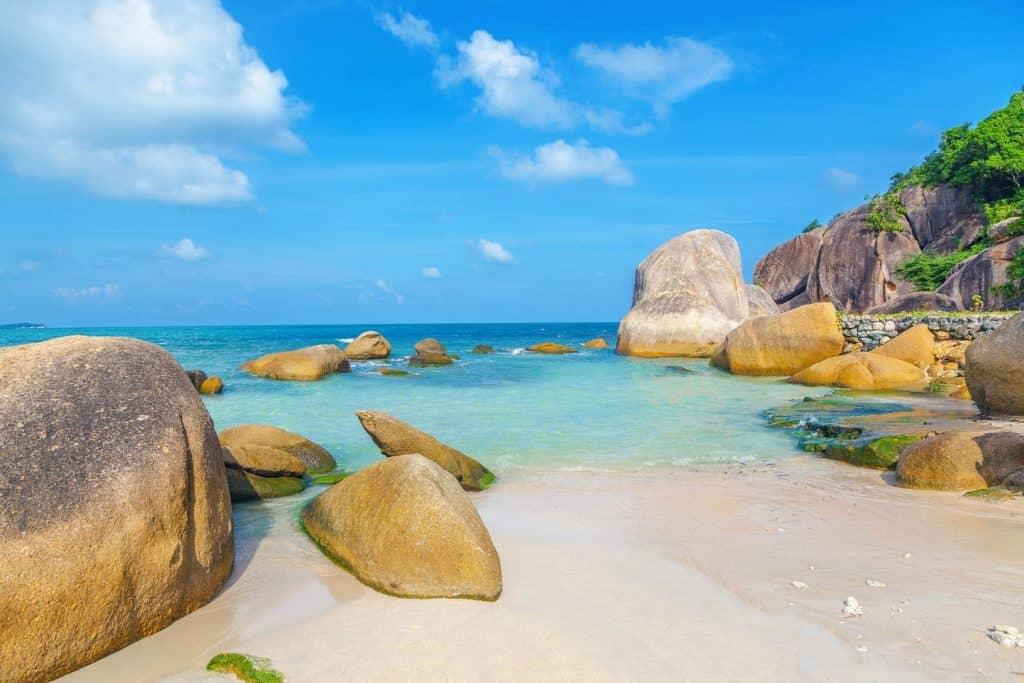 جزيرة كوه ساوي في تايلاند