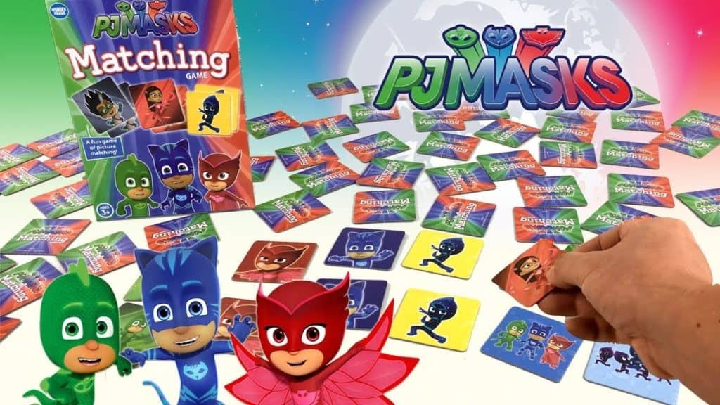 وندر فورج Wonder Forge PJ Masks Matching Game