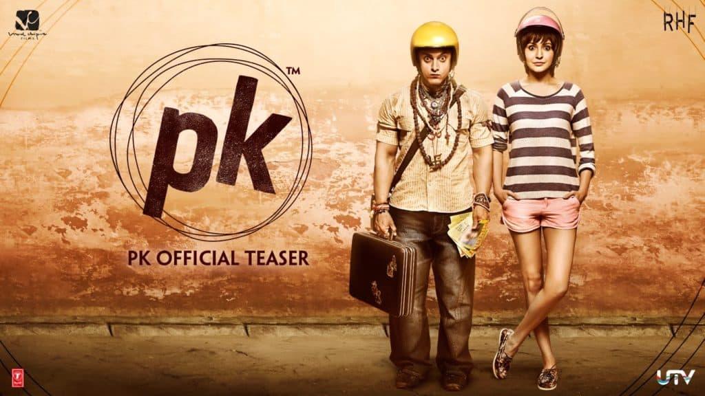 فيلم بي كاي PK افضل الافلام الهندية الكوميدية