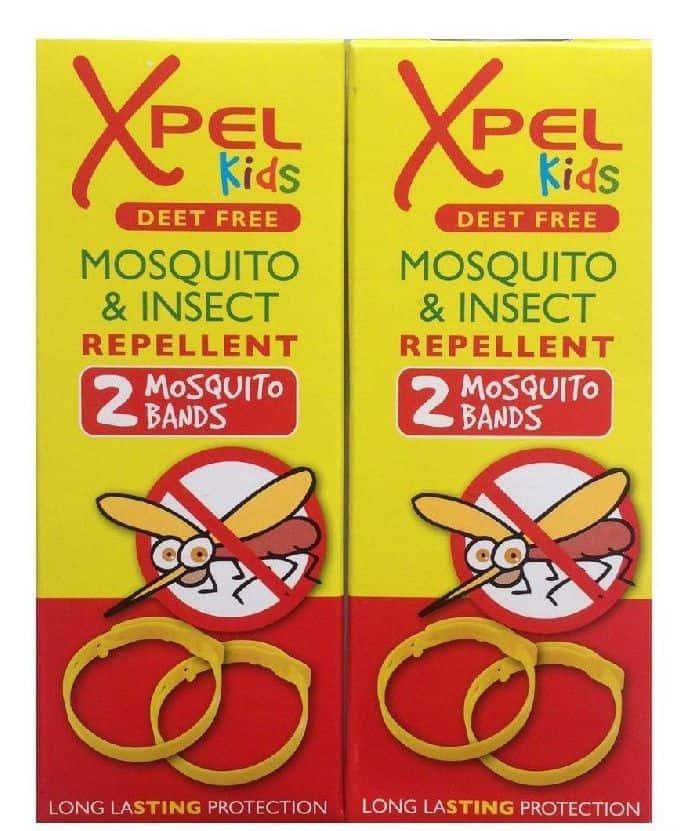 Xpel Mosquito Repellent (مشابه لمنتجات أخرى) سوار طارد البعوض