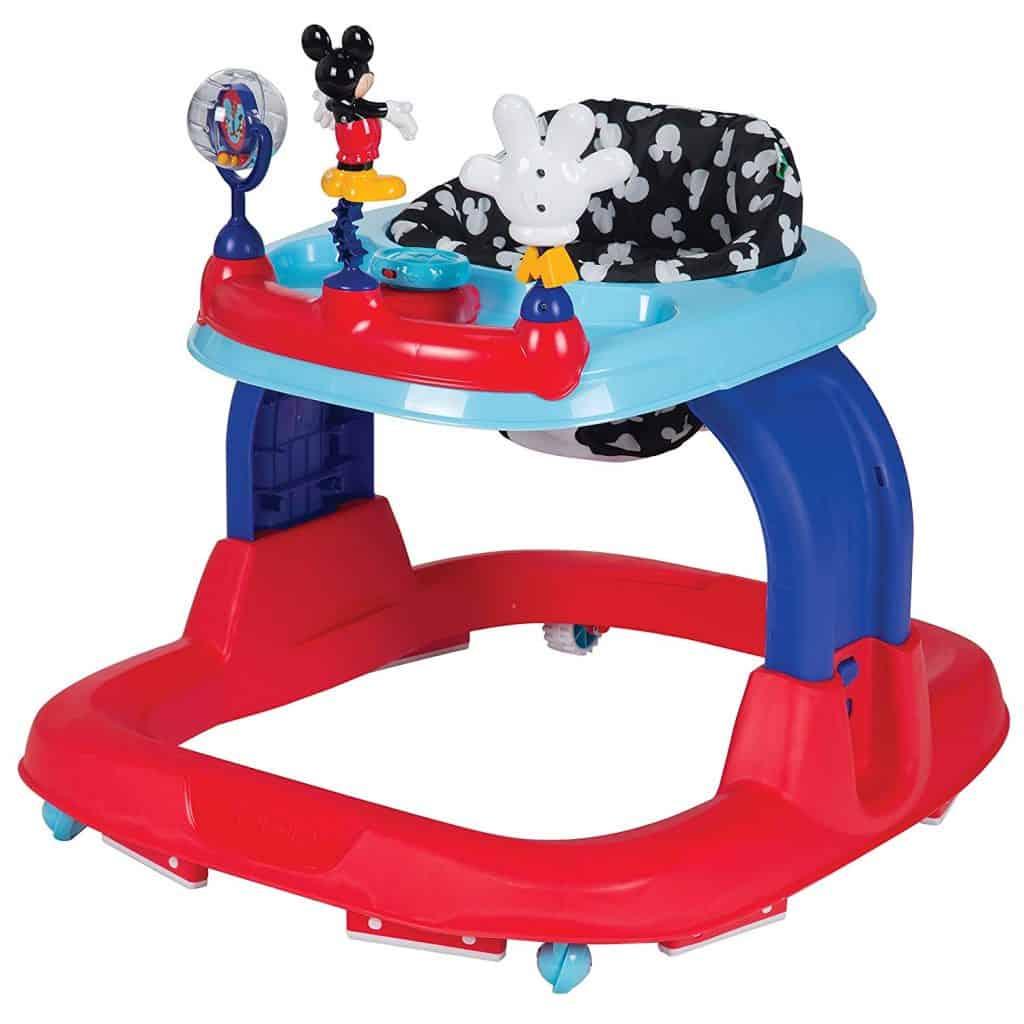افضل مشاية اطفال ثابتة ومتحركة Safety 1st Ready, Set, Walk! Walker, Mickey Silo