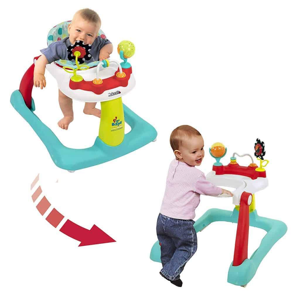 Kolcraft Tiny Steps 2-in-1 مشايات اطفال لتعليم المشي