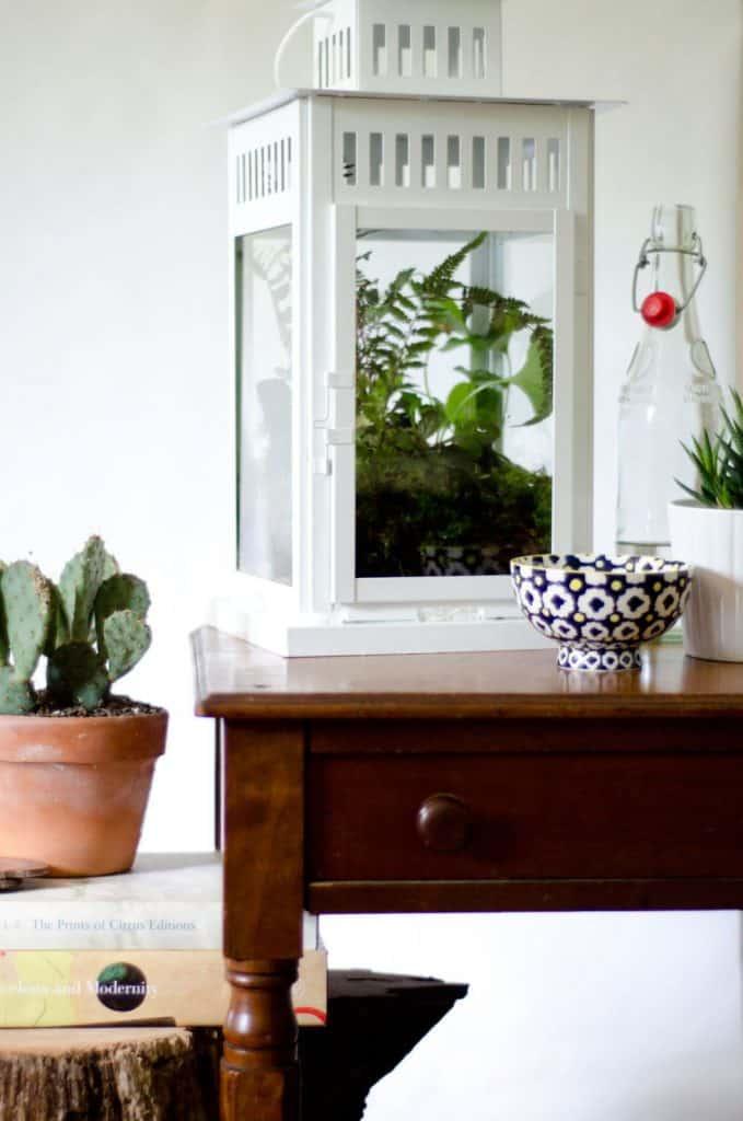 """تحويل مصباح """"بوربي"""" إلى حاوية نباتات عصرية"""