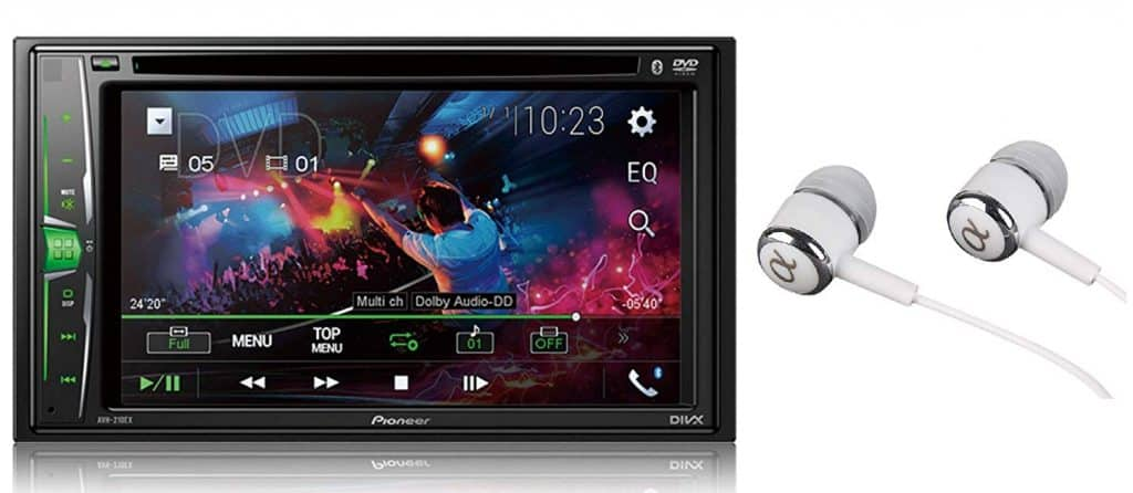 Pioneer In-Dash DVD Receiver Car Stereo