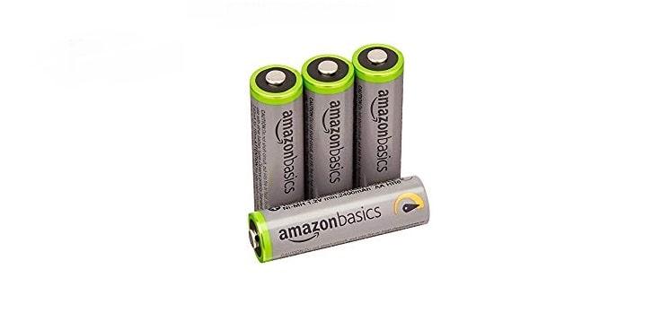 بطاريات أمازون AmazonBasics 4P عالية السعة