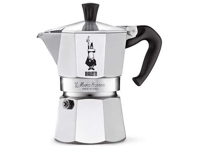 بايليتي موكا إكسبريس Bialetti 6799 Moka Express افضل ماكينة قهوة بدون كبسولات