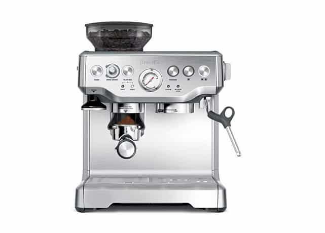 بيرڤيللي باريستا إكسبريس Breville BES870XL Barista Express انواع ماكينة القهوة