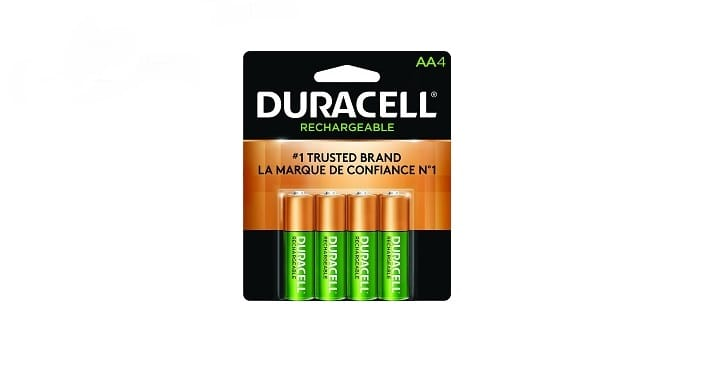 بطاريات دورا سيل Duracell AA-Rechx4