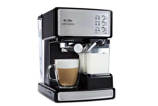 Mr. Coffee Café Barista Espresso   افضل ماكينة قهوة اسبريسو