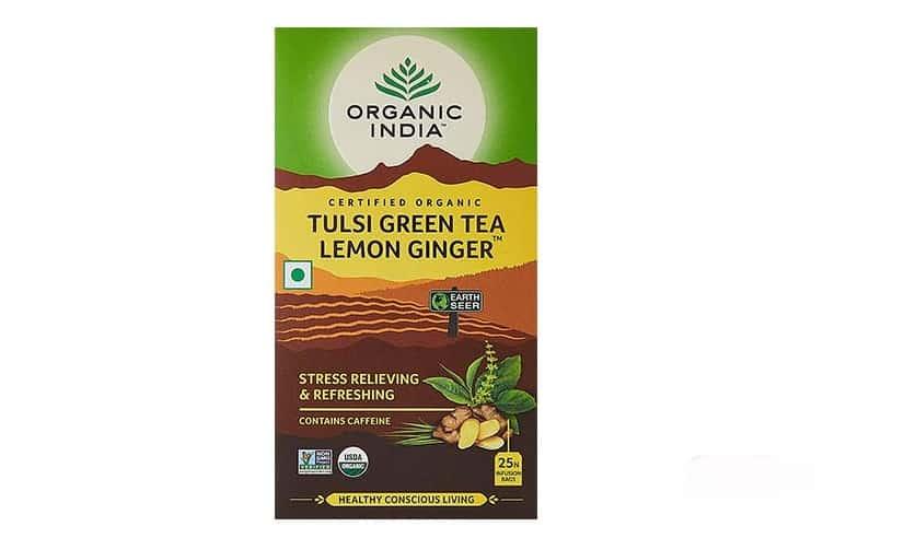 Organic-India-Tulsi افضل شاي اخضر للتخسيس الوزن