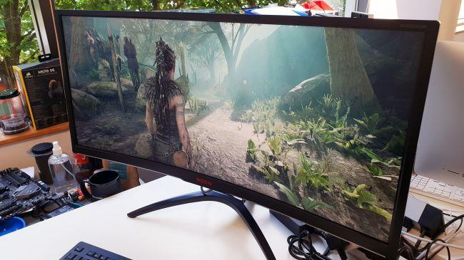 افضل شاشة كمبيوتر للالعاب والعمل المكتبي