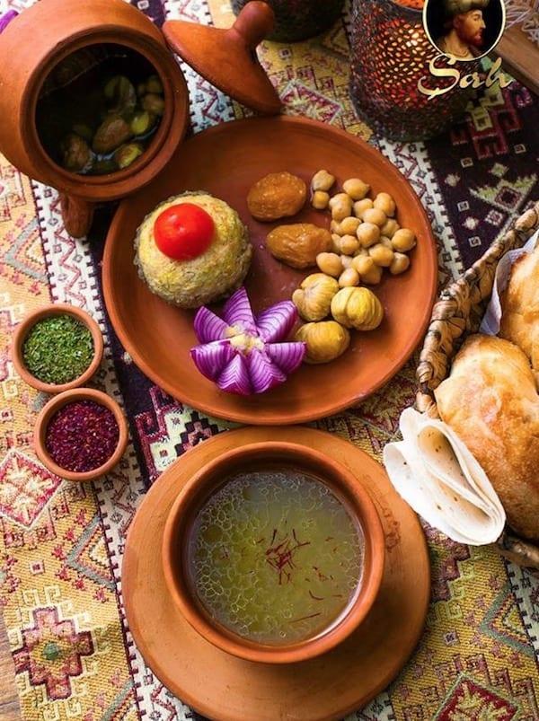 مطعم شروان شاه باكو Shah Restaurant