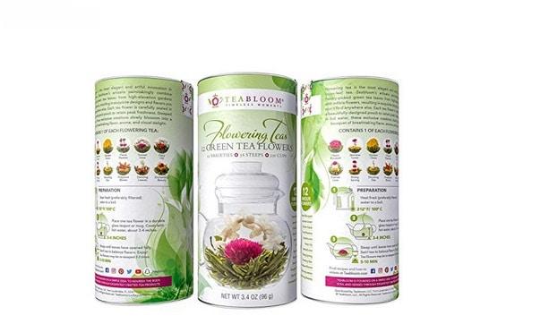 Teabloom-Flowering افضل شاي اخضر عضوي