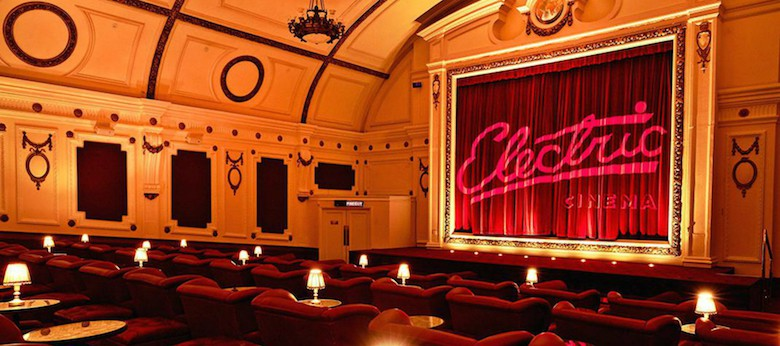 السينما الكهربائية نوتينغ هيل The Electric Cinema Notting Hill