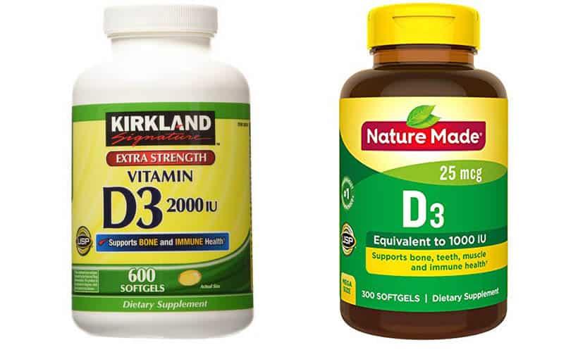 أفضل مكملات فيتامين د Vitamin D