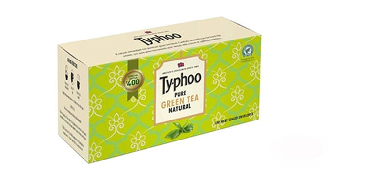 Typhoo-Green-Tea افضل انواع الشاي الاخضر