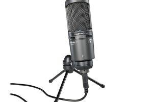 اوديو تشينيكا Audio-Technica AT2020USB+ Cardioid USB Mic افضل مايك usb