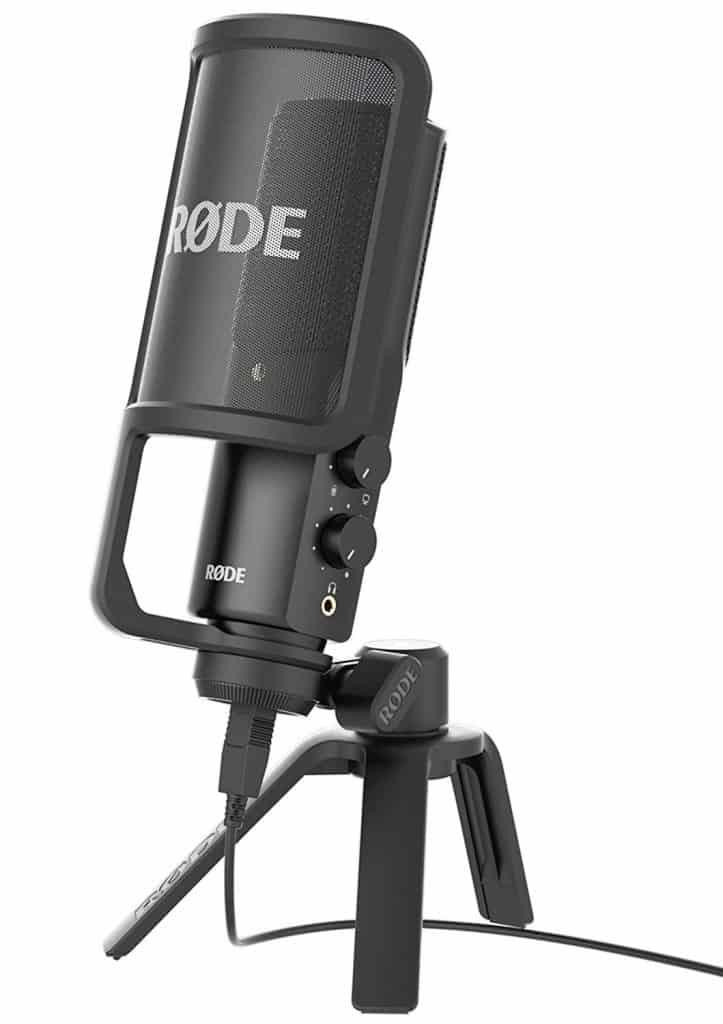 رود 4K.Rode NT-USB USB Condenser Microphone