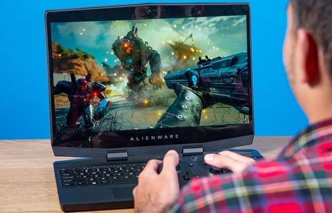 كمبيوتر إلين وير المحمول للألعاب Alienware m15 OLED لاب توب للالعاب الثقيلة 2018