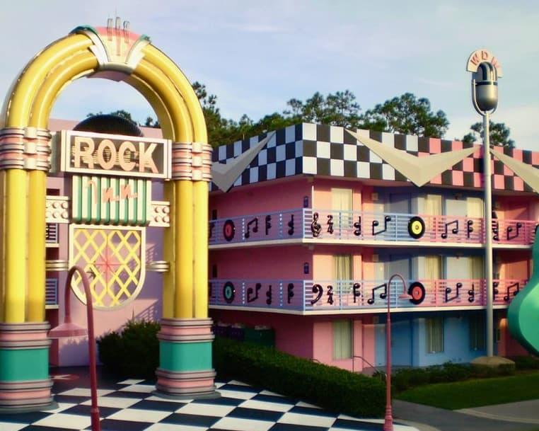 منتجع ديزني ستار ميوزيك Disney's All-Star Music