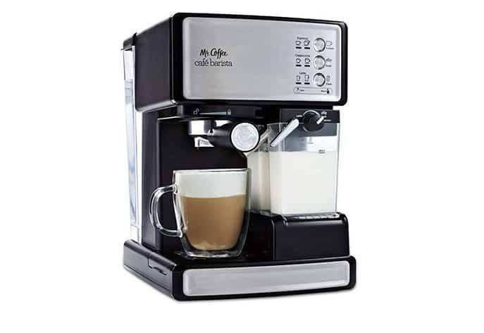 ماكينة مستر كوفي باريستا Mr. Coffee ECMP1000 Café Barista Premium Espresso / Cappuccino System مكينة نسبريسو للبيع افضل ماكينات قهوة نسبريسو أقل من ١٠٠٠ ريال