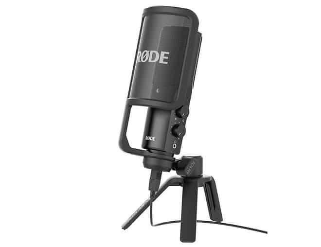 RØDE NT-USB افضل ميكروفون للغناء